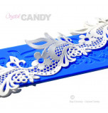 Crystal Candy® Lace Silicon Mat, SHAILEE - Double Design