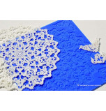 Crystal Candy® Lace Silicon Mat, Doily Art VINTAGE
