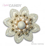 Crystal Candy® Brooch Silicon Mould, GLAMOROUS
