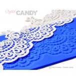 Crystal Candy® Lace Silicon Mat, ROXY