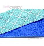 Tapis en Silicone Dentelles Crystal Candy®, Damask
