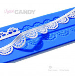 Tapis en Silicone Dentelles Crystal Candy®, Myst