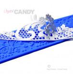 Tapis en Silicone Dentelles Crystal Candy®, Jazz Lee
