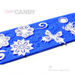 Tapis en Silicone Dentelles Crystal Candy®, Papillons & Co