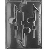 Moule Sucettes Chocolat, Notes de Musique