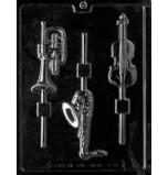 Moule Sucettes Chocolat, Instruments de Musique