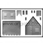 Moule Sucre Cuit, Maison 3D