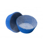 120 Cupcakes Baking Cases | Standard Size - Blue