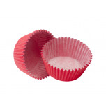 120 Cupcakes Baking Cases | Standard Size - Red
