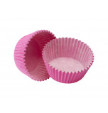 120 Cupcakes Baking Cases | Standard Size - Fuchsia Pink
