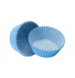120 Cupcakes Baking Cases | Standard Size - Light Blue