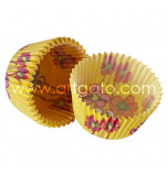 Caissettes de Cuisson Vestli House®, 20 Cupcakes - Taille Standard, Hedda Jaune