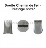 Douille Chemin de Fer - Tressage n°897