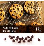 Pépites de Chocolat Noir 63% de Cacao 1 kg