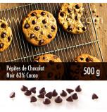 Pépites de Chocolat Noir 63% de Cacao 500 g
