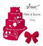 Pâte à sucre   Rouge - 2,5 kg