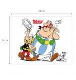 Edible Cake Topper | Asterix et Obelix - Asterix, Obelix & Idefix, Wafer Cake Plaque 21 x 28 cm