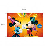 Edible Cake Topper | Mickey & Cie - Mickey & Minnie, Wafer Cake Plaque 20 x 30 cm