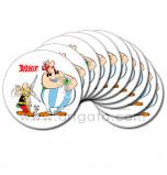 Edible Cake Topper | Asterix et Obelix - Asterix, Obelix & Idefix, 10 Wafer Cake Discs Ø 21 cm