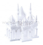 Styrofoam Castle | 1001 Nights Palace (Arabian Nights) - 29 cm High x Sides 16,5 x 25 cm