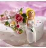Mariée ou Demoiselle d'Honneur Blonde