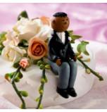 Marié ou Garçon d'Honneur Afro-américain