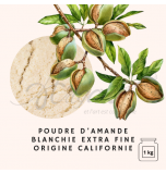 ALMONDS | Finely Ground Blanched Almond Flour, California - 1 Kg