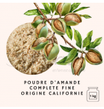 ALMONDS | Finely Ground Complete Almond Flour, California - 1 Kg