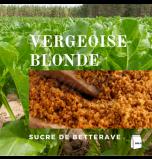 Vergeoise Sugar - Light (Belgian Light Brown Beet Sugar) - Pack of 500 g