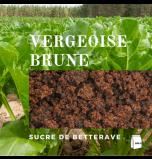Vergeoise Sugar - Dark (Belgian Dark Brown Beet Sugar) - Pack of 500 g