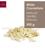 White Chocolate Couverture, Natural Vanilla Flavour