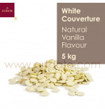 White Chocolate Couverture - Vanilla Flavour