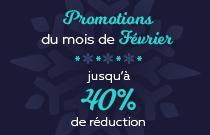 Promotions de Février