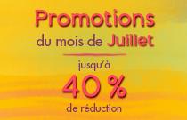 Promotions de Juillet