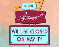 Paris Store closed on May 1st