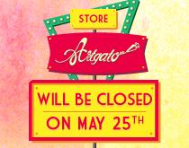Artgato Paris Store will be closed on May 25th
