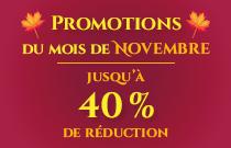 Promotions de Novembre