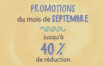 Pavé Promotions de Septembre